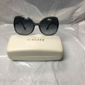 Women's Versace sunglasses with case